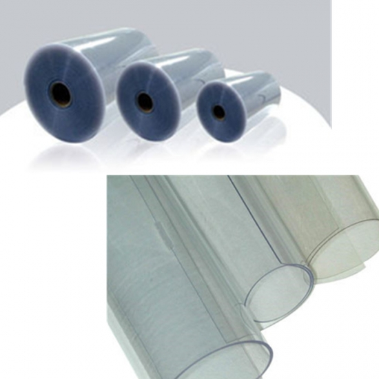rigid medicine PVC film for pharma blister pack
