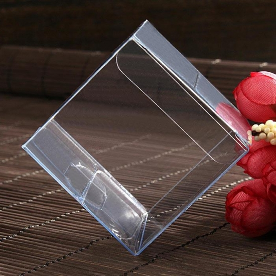 Transparent pvc box plastic box PET box